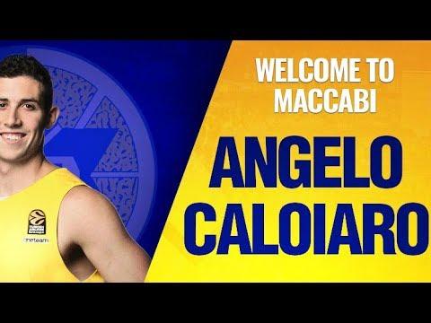 Welcome to Maccabi: Angelo Caloiaro