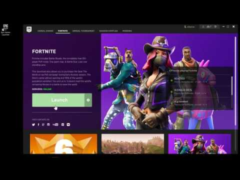 Fortnite Would Not Launch After Update 2018 (Quick Fix/Solved)