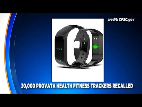 Provata Health Fitness Trackers Recalled