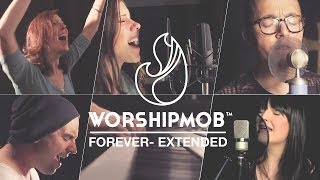 Forever (extended) - by Bethel/Johnson/Jobe - WorshipMob cover