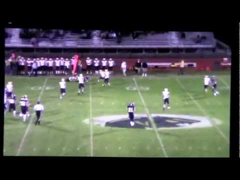 Andrew Clements Dewitt Panthers 2012 Highlight Tape Youtube