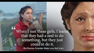 How I gave Justice to Acid Attack Survivors | Ria Sharma | Josh Talks