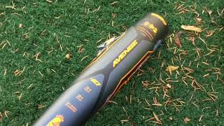 Breaking a Composite Bat | One Sided Hitting