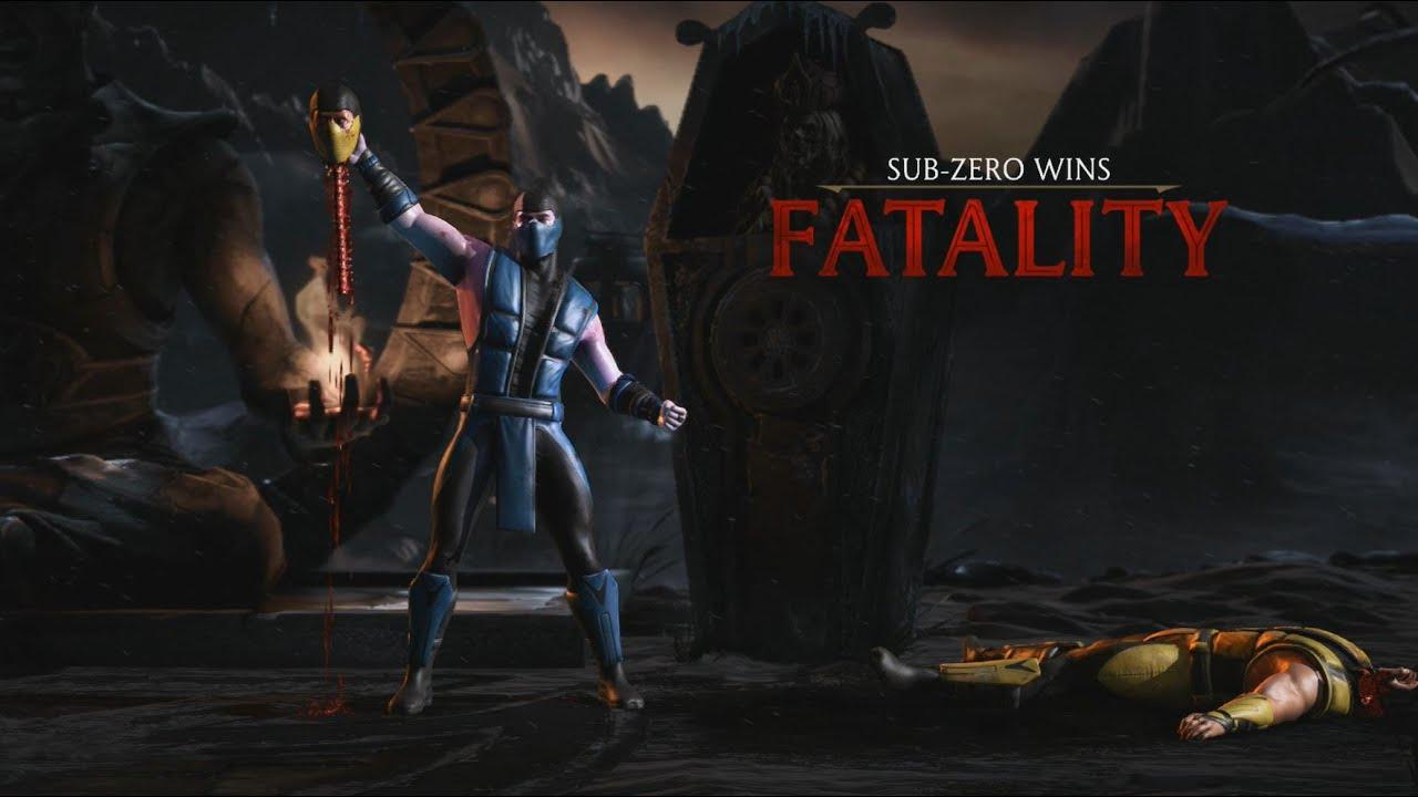 Sub Zero Fatality Sub Zero Mortal Kombat X