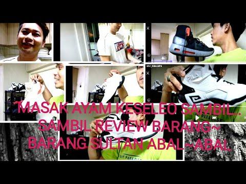 d3di-vlog#masak-ayam-keseleo-&-review-barang-sultan-abal~abal.