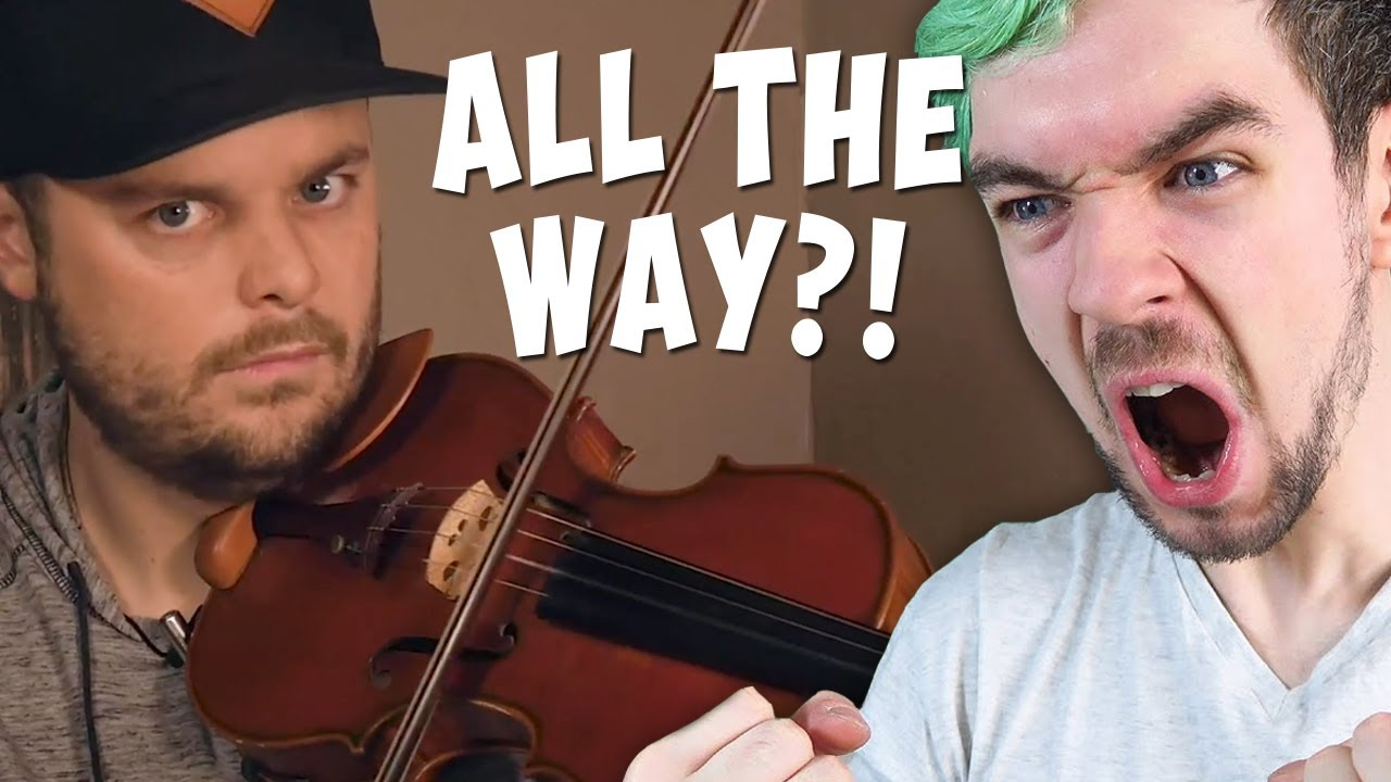 "I Played JackSepticEye's ""All the Way"" on Violin"