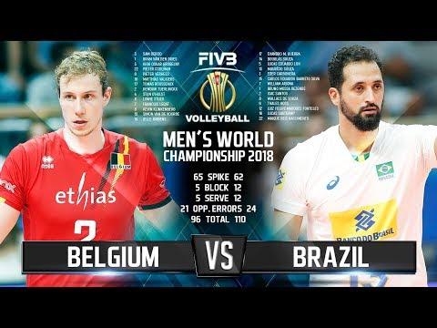 Belgium vs. Brazil | Highlights | Mens World Championship 2018