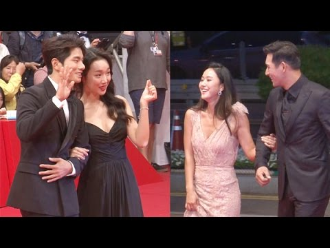 SSTV 윤진서 Jin Seo Yoon정연주jung yeon ju, 은근한 가슴골 노출 '청순 미모는 덤' 21회 부산국제영화제
