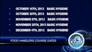 CIGTV News Update show 186, 18 September 2013