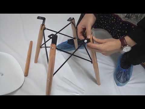 """Как собрать стул Eames """"Ник"""" - видео от Мебельмарт™"""