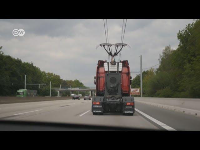 Alemania estrena autopista eléctrica