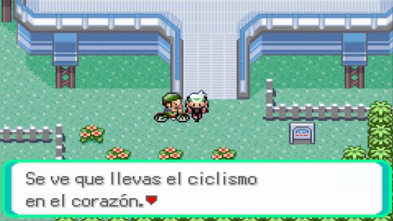 Pokémon Esmeralda Camino De Bicis 9 31 Seg Youtube