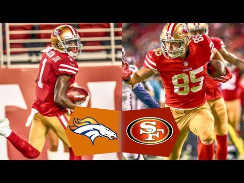 49ers VS Broncos Postgame NFL 2017 Preseason Week 2 Gathering - YouTube