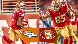 49ers VS  Broncos Postgame NFL 2017 Preseason Week 2 Gathering