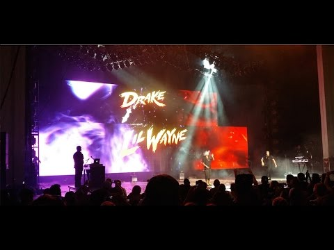 Drake Vs Lil Wayne - PNC Arts Center, Holmdel NJ - (August 26th 2014)
