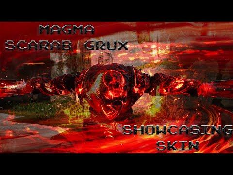 Gotta LOVE the HEAT! Magma Grux Skin! Blazing Red! PARAGON. Showcase.