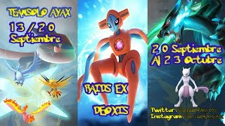 Pokemon Go  Deoxis Confirmado