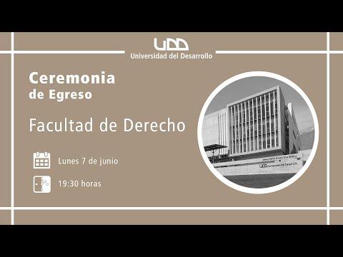 Ceremonia de Egreso Derecho - Sede Santiago
