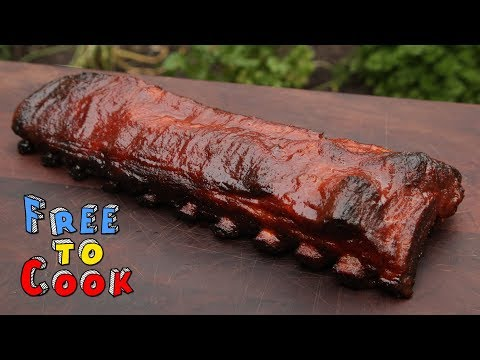 How to Cook Baby Back Ribs with Homemade BBQ Sauce