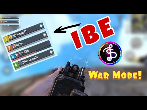 War Mode Gameplay with IBE! | Pubg Mobile