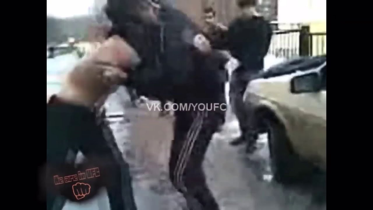 Zubaira Tukhugov Gets Into A Street Fight With A Boxer