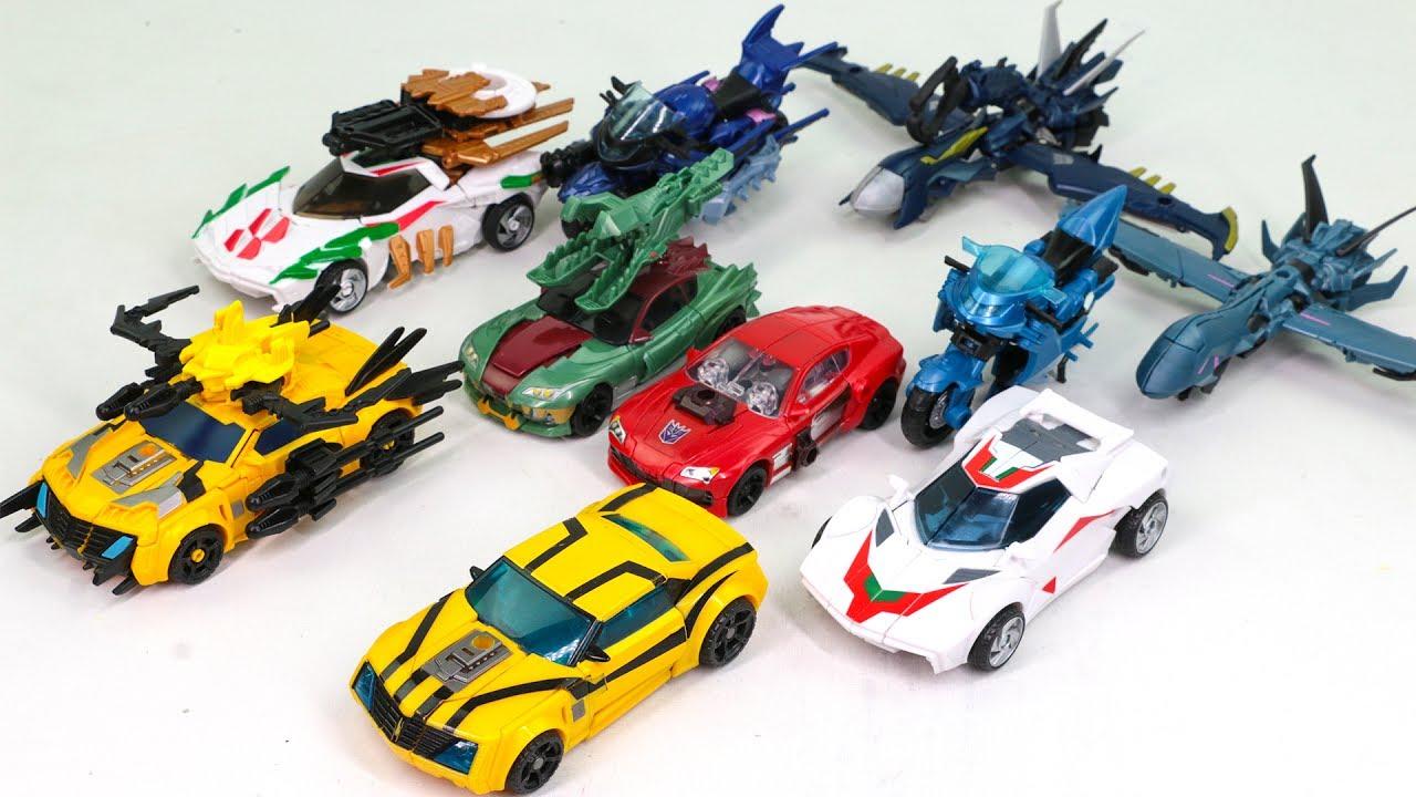 transformers prime beast hunters bumblebee knockout arcee