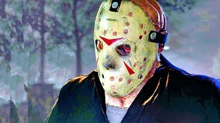 FRIDAY THE 13th THE GAME All Cutscenes Single Player Gameplay