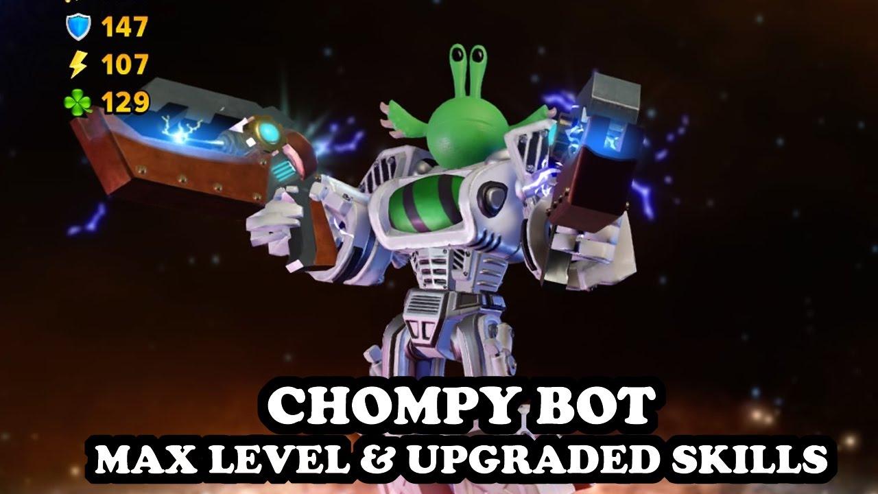 Skylanders Imaginators - Chompy Bot - MAX LEVEL & UPGRADED SKILLS - GAMEPLAY