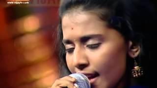Super singer-Priyanka sings raasave unnai nambi