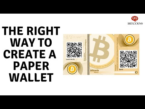 How To Create A Super Secure Bitcoin Paper Wallet