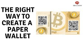 How to Create a 99.9% Secure Bitcoin Paper Wallet