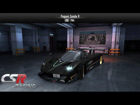 CSR Racing Pagani Zonda R 7.8xx [NO MECH] - YouTube