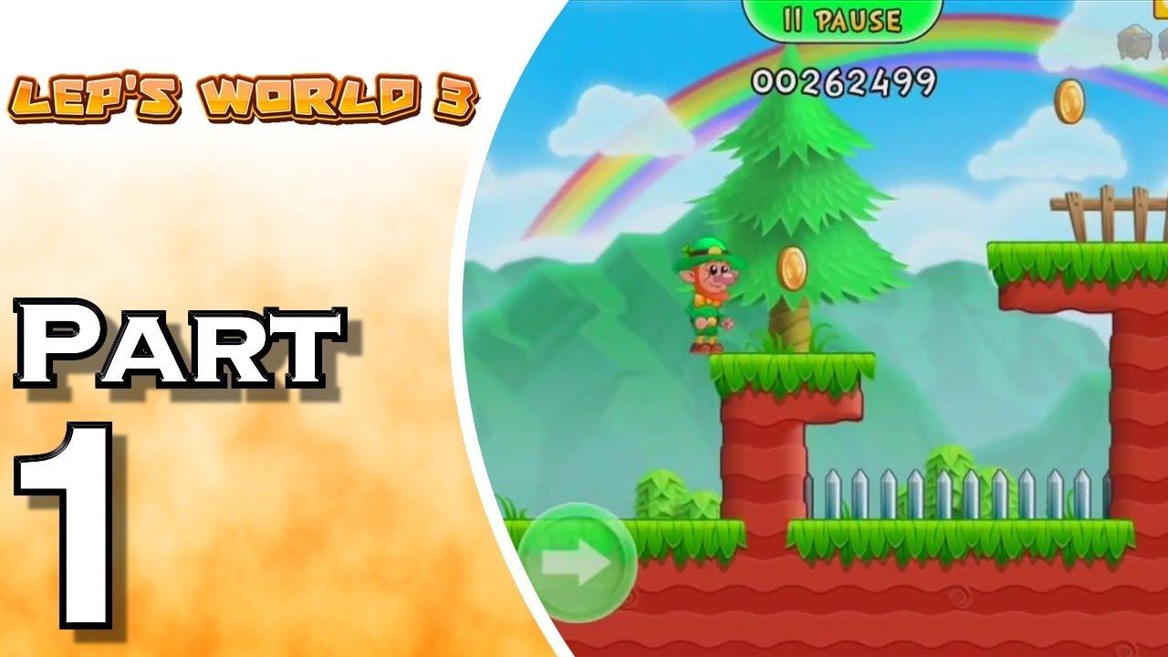 Let S Play Lep S World 3 Gameplay Walkthrough Part 1