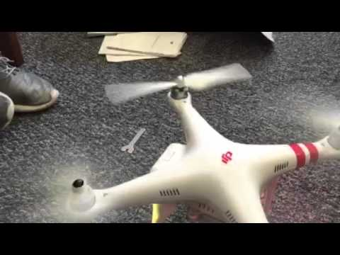 Quad copter rotor fail