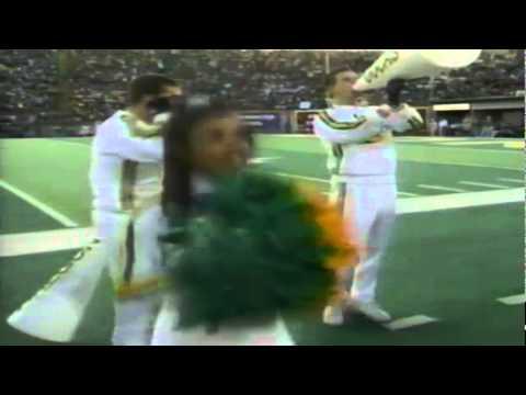 Oregon TE Josh Wilcox 15 yard gain on screen pass vs. OSU 11-18-1995
