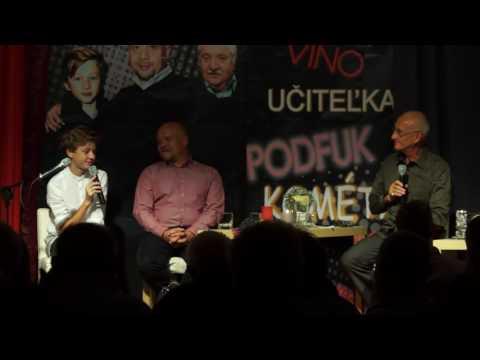 Jozef Banáš a NA KUS REČI: Marián Labuda a syn Richard