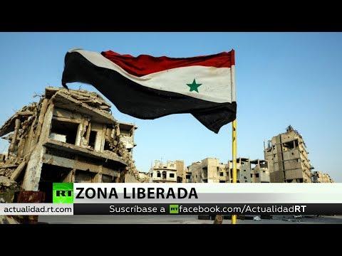 El Ejército de Siria libera el último baluarte de los terroristas en el sur del país