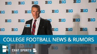 College Football: Urban Meyer Suspension, Michigan To Start Shea Patterson, Quintez Cephus Arrested