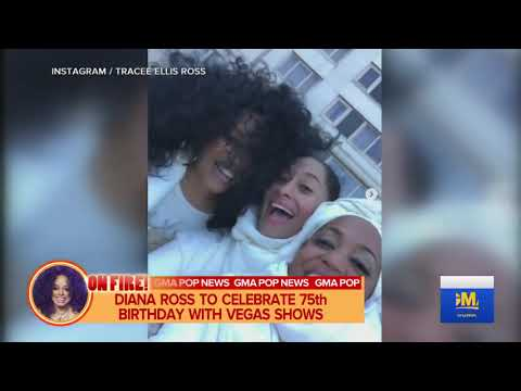 Diana Ross Will Celebrate Her 75th Diamind Birthday In  Las Vegas Mp3