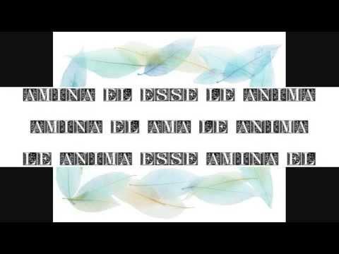 Poemas calligraphic in Interlingua