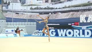 Александра Солдатова - Булавы(многоборье)  20.50 WCC Kazan 2018