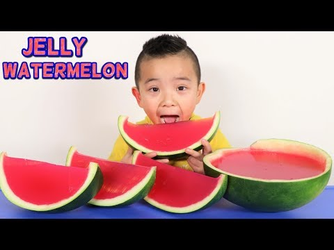 WATERMELON JELLY DIY Fun With Ckn Toys