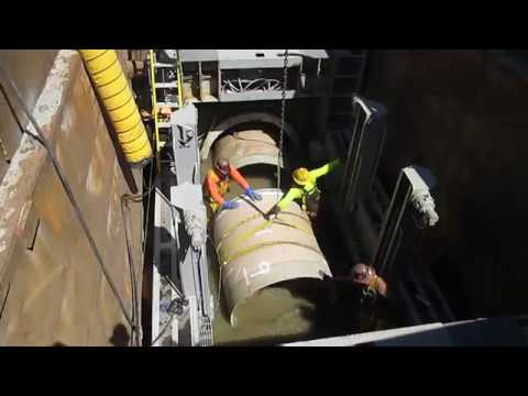 "Sliplining 72"" Sanitary Sewer with Hobas Pipe - King County WA"
