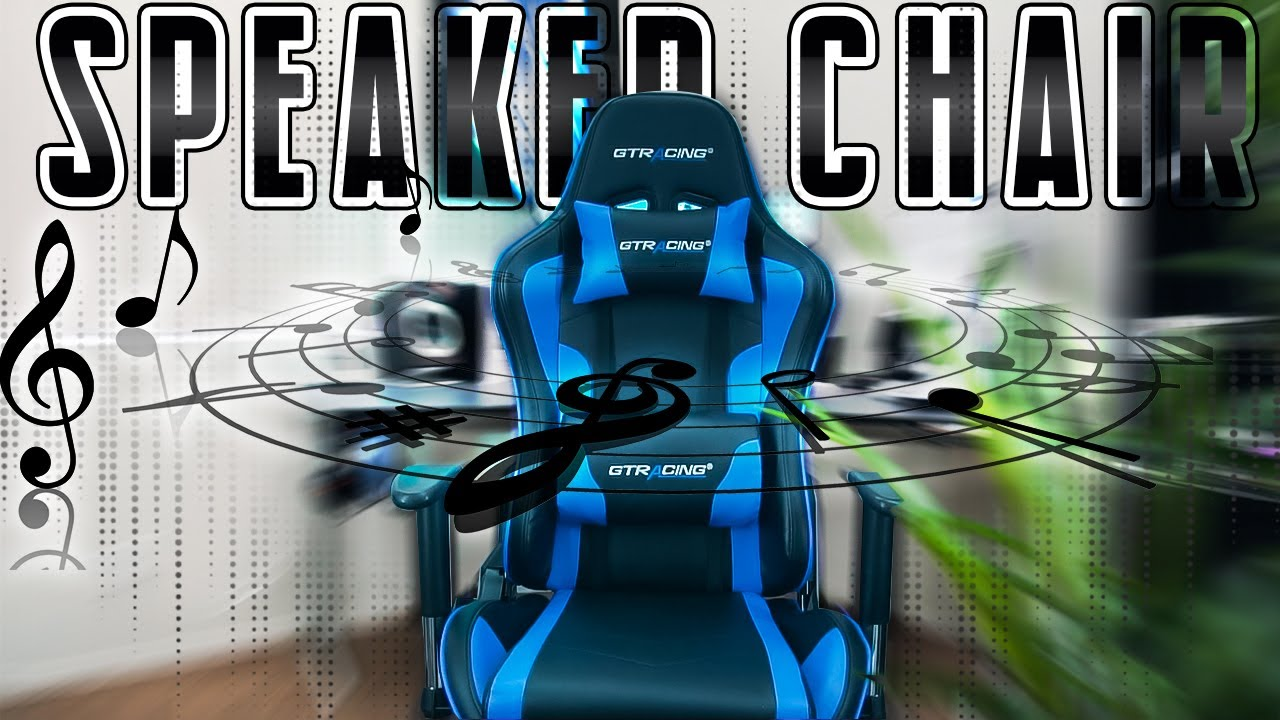 This Gaming Chair Has Speakers! | GT Racing Chair Review