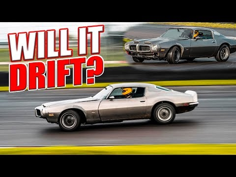 Can I Drift This Old Pontiac Firebird? Open Diff + Automatic