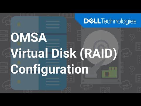 Configuring RAID 5 Virtual Disk using Server Administrator