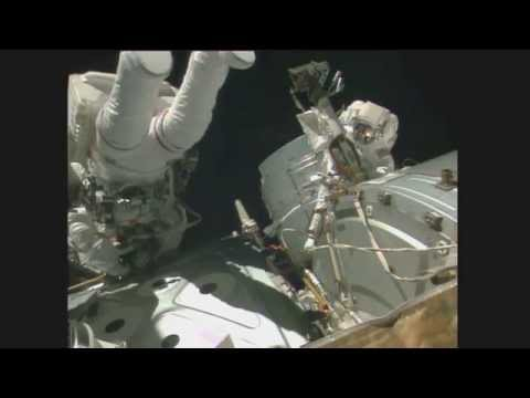 NASA Astronauts Conduct Space Walk To Make Important Repairs
