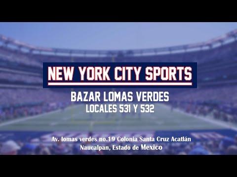 Visitando New York City Sports en Lomas Verdes.