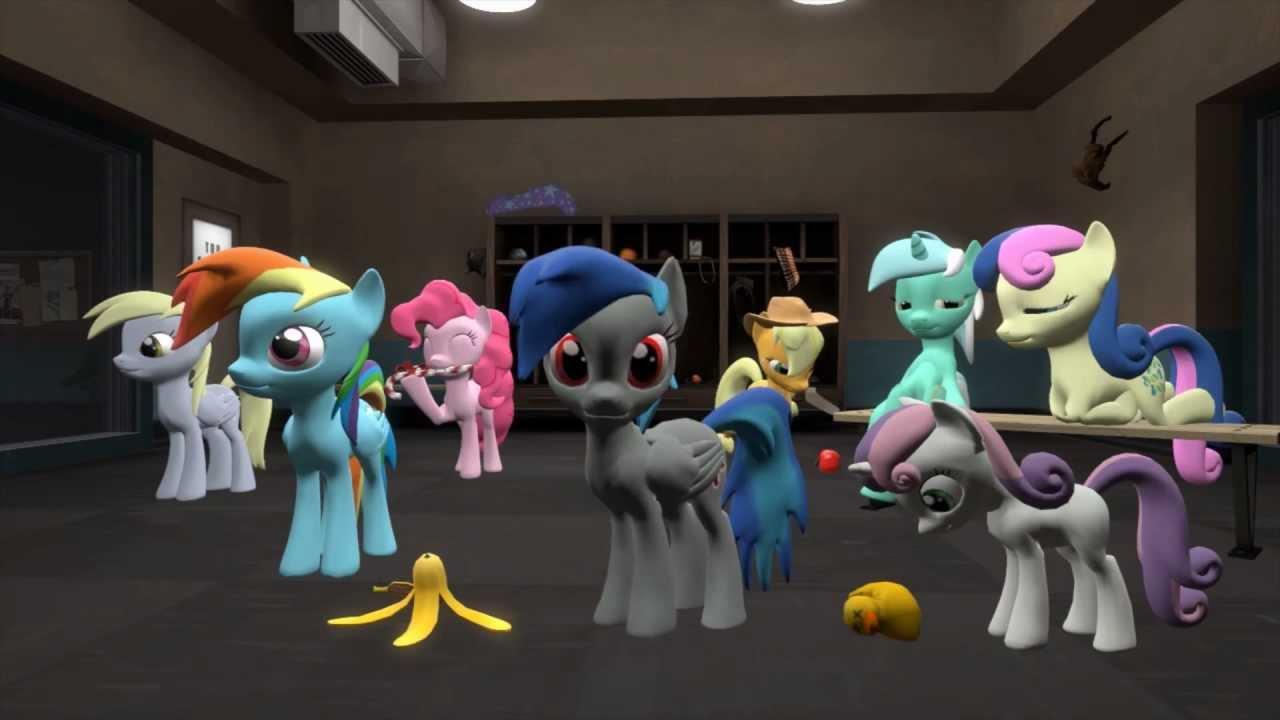 Animated Dj Wallpaper Harlem Shake Pony Sfm Youtube