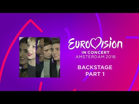 Eurovision In Concert 2016: Backstage (part 1)